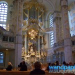 In der Frauenkirche. Ganz schön viel Gold.