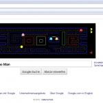google - pacman
