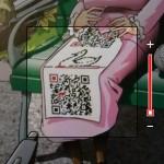 BeeTagg QR-Reader - Screenshot c't